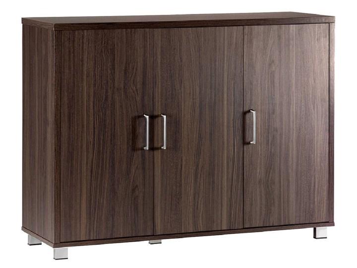 3-drzwiowa komoda Platinum A12 ciemny orzech Głębokość 40 cm Wysokość 80 cm Szerokość 120 cm Kategoria Komody Styl Nowoczesny