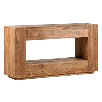 Konsola drewniana Tikka, 140x40x76 cm