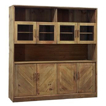 Kredens drewniany Quadra, 184x190 cm