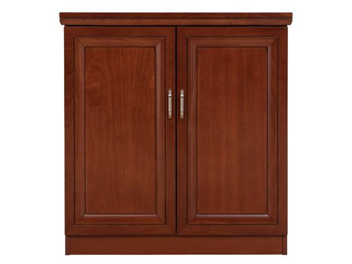 Komoda 2 drzwiowa Antonio II B, do gabinetu Drewno Wysokość 85 cm Kategoria Komody Szerokość 85 cm Szerokość 80 cm Kolor Brązowy