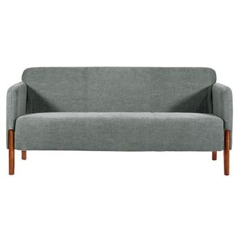 Szara 3-osobowa sofa Fusion, do gabinetu