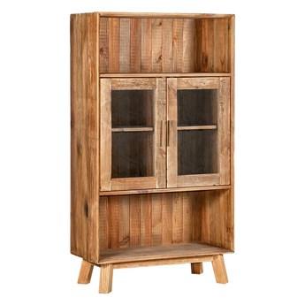 Kredens / witryna Glimmer, 90x160, drewno