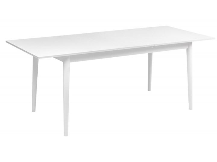 Zestaw Skandynawski Stół + Krzesła do Salonu 190/150x80 Kategoria Stoły z krzesłami Kolor Biały