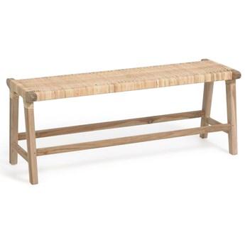 Lawka Beida z litego drewna tekowego 120 cm