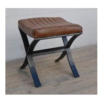 Krzesełko / siedzisko skórzane loft M-21070