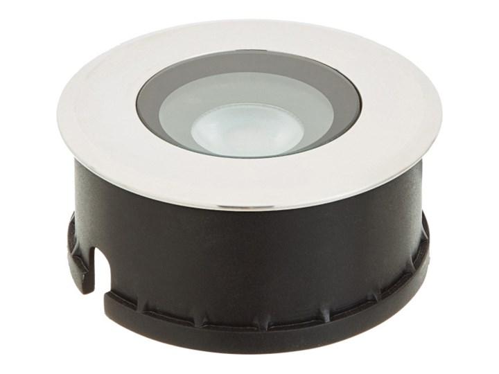 Oświetlenie tarasowe LED Blooma Brockton okrągłe 310 lm 4000 K stalowe Oprawa najazdowa Kategoria Lampy ogrodowe
