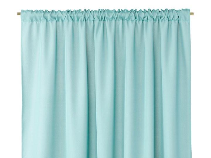 Zasłony dekoracyjne z eleganckim marszczeniem do sypialni na taśmie Oxford 140x250 cm Morskie ELEGANTE Kolor Poliester Typ Zasłony gotowe