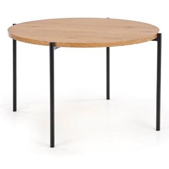 Stół z okrągłym blatem na stalowych nogach Minimalistyczny MONICA