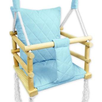 Niebieska huśtawka dziecięca 3w1 - Lajra