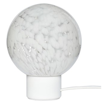 Lampa stołowa Esben ∅15x21 cm biała