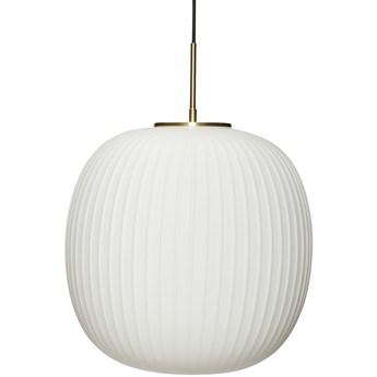 Lampa wisząca Imril Ø42x40 cm biała