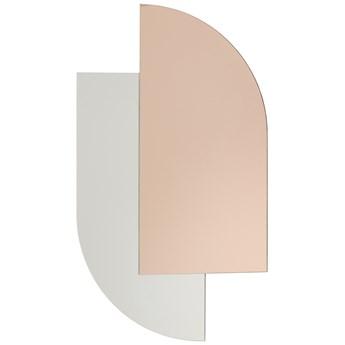 Lustro ścienne Vonil 39x68 cm różowe