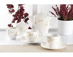 Serwis kawowy CLAIRE na 6 osób (17 el.)