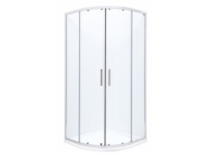 Roca Town Rondo kabina prysznicowa półokrągła 90 cm AMP2509012M Wysokość 195 cm Narożna Kategoria Kabiny prysznicowe Rodzaj drzwi Rozsuwane