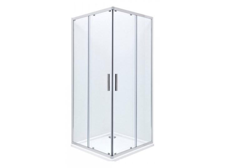 Roca Town Square kabina prysznicowa kwadratowa 90 cm AMP2609012M Rodzaj drzwi Rozsuwane Wysokość 195 cm Kategoria Kabiny prysznicowe