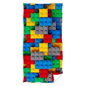 Ręcznik bawełniany 70x140 Klocki Lego, Carbotex