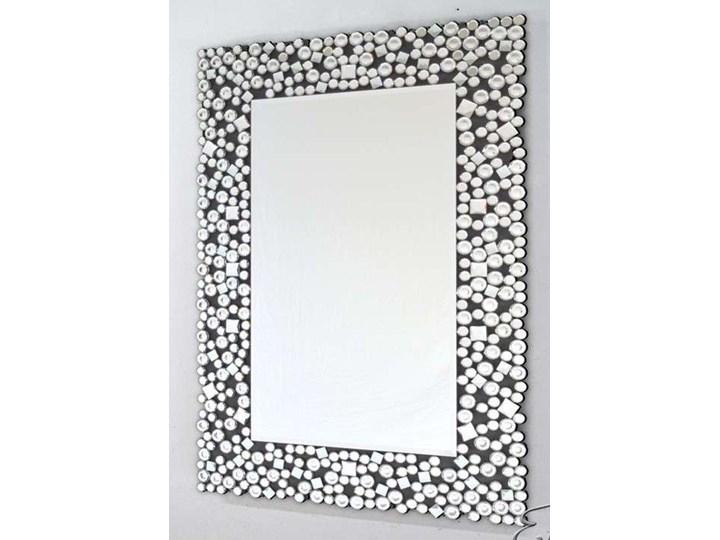 Lustro z  kryształkami Espello Glamur 80 x 100 Ścienne Lustro z ramą Prostokątne Pomieszczenie Przedpokój