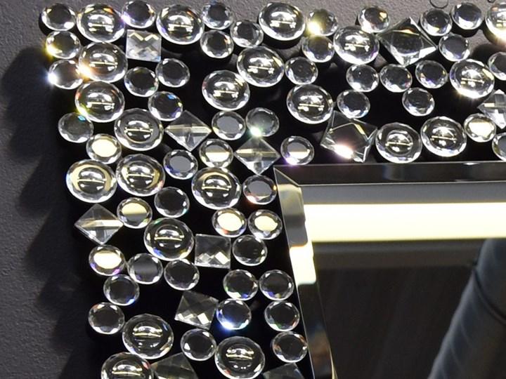 Lustro z  kryształkami Espello Glamur 80 x 100 Lustro z ramą Prostokątne Ścienne Kategoria Lustra