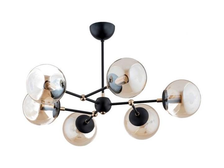 Nowoczesna lampa sufitowa ITORIS OP. OŚW. 6 PŁ Metal Lampa z kloszem Pomieszczenie Kuchnia Stal Pomieszczenie Salon