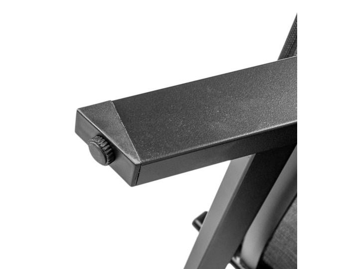 BEŻOWY LEŻAK OGRODOWY Z regulowanym oparciem Aluminium Styl Nowoczesny Kategoria Leżaki ogrodowe