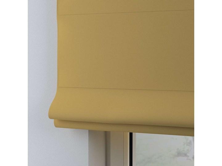 Roleta rzymska Billie, zgaszony żółty, szer.130 × dł.170 cm, Cotton Story Wzór Dla dzieci