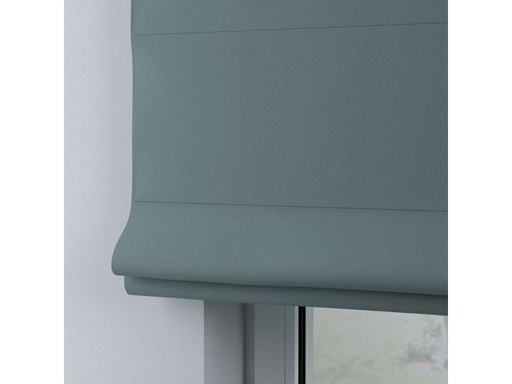 Roleta rzymska Billie, eukaliptusowy błękit, szer.160 × dł.170 cm, Cotton Story Wzór Dla dzieci Pomieszczenie Pokój przedszkolaka