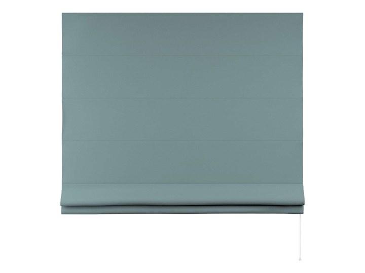 Roleta rzymska Billie, eukaliptusowy błękit, szer.160 × dł.170 cm, Cotton Story Pomieszczenie Pokój przedszkolaka