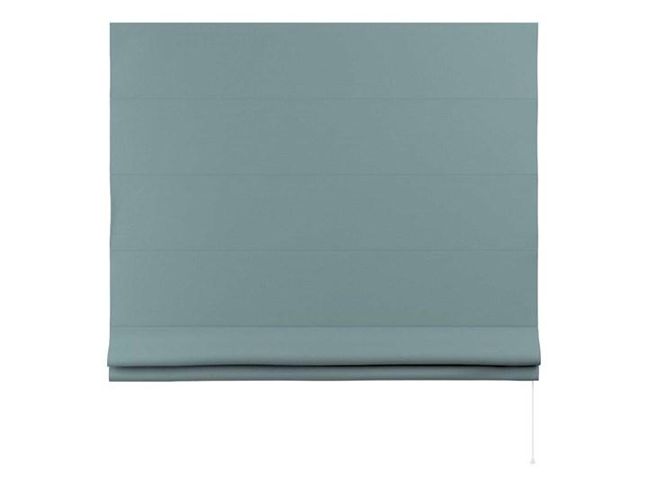 Roleta rzymska Billie, eukaliptusowy błękit, szer.160 × dł.170 cm, Cotton Story Kolor Pomieszczenie Pokój przedszkolaka
