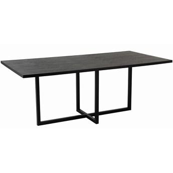 Stół do jadalni czarny Iron Black