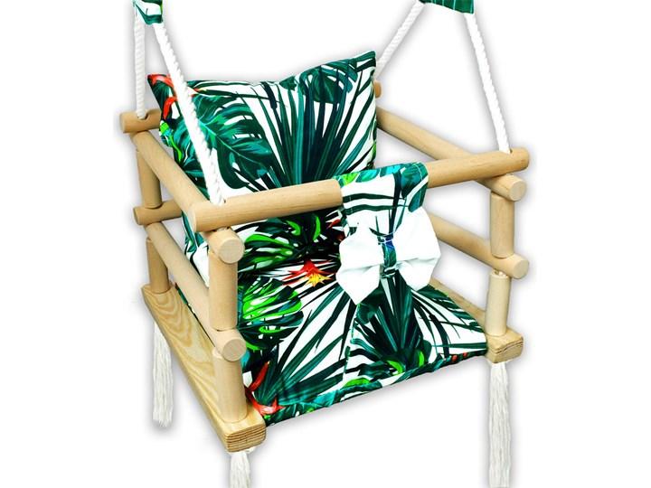 Huśtawka dla dzieci 3w1 szczebelkowa w palmy - Norsa