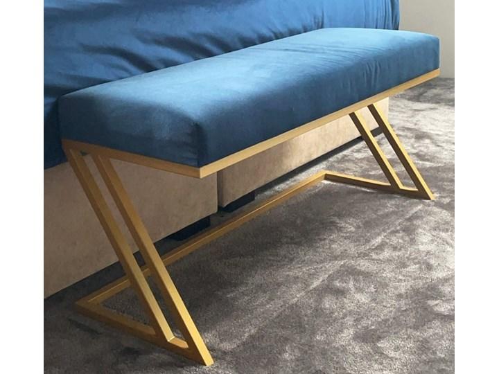 Ławka tapicerowana ZETA złota Kategoria Ławki do salonu