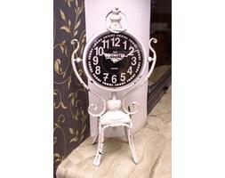 Zegar stojący metalowy Retro Style