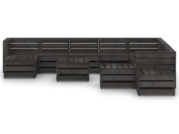 vidaXL 12-cz. zestaw wypoczynkowy do ogrodu, impregnowana sosna Zestawy wypoczynkowe Zestawy modułowe Styl Rustykalny