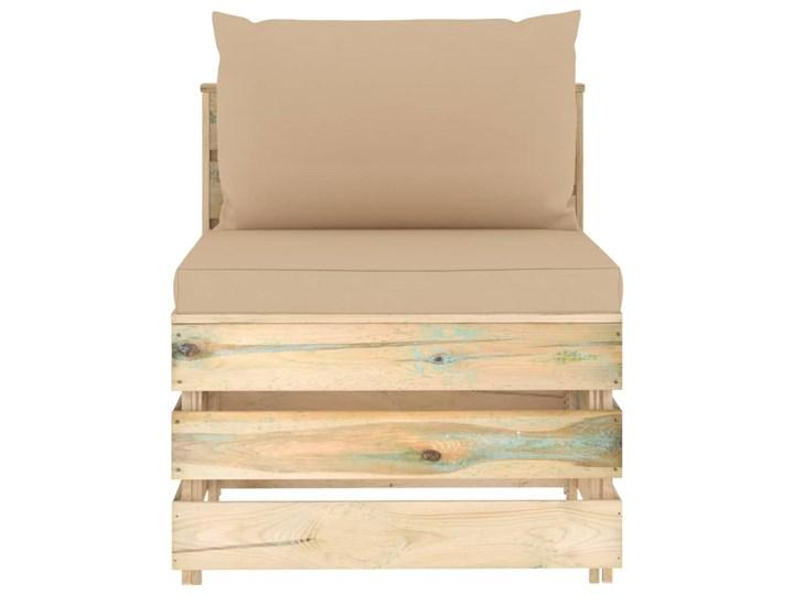 vidaXL 6-cz. zestaw wypoczynkowy do ogrodu, z poduszkami, drewniany Zestawy modułowe Styl Rustykalny Drewno Zestawy wypoczynkowe Kategoria Zestawy mebli ogrodowych