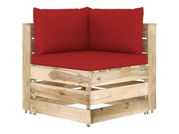 vidaXL 6-cz. zestaw wypoczynkowy do ogrodu, z poduszkami, drewniany Drewno Zestawy wypoczynkowe Zestawy modułowe Styl Rustykalny Kategoria Zestawy mebli ogrodowych