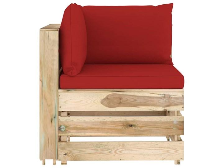 vidaXL 6-cz. zestaw wypoczynkowy do ogrodu, z poduszkami, drewniany Zestawy modułowe Styl Rustykalny Zestawy wypoczynkowe Drewno Kategoria Zestawy mebli ogrodowych