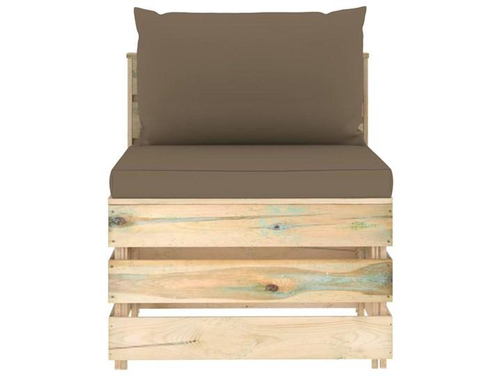 vidaXL 6-cz. zestaw wypoczynkowy do ogrodu, z poduszkami, drewniany Styl Rustykalny Drewno Zestawy wypoczynkowe Zestawy modułowe Kategoria Zestawy mebli ogrodowych