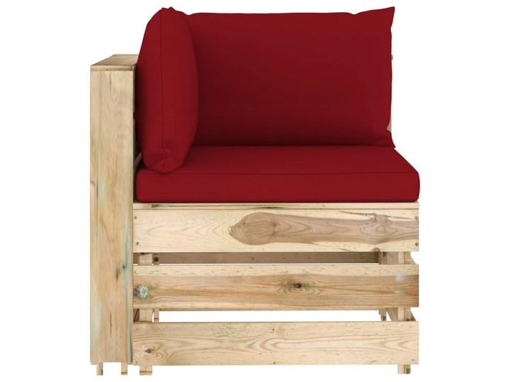 vidaXL 6-cz. zestaw wypoczynkowy do ogrodu, z poduszkami, drewniany Zestawy modułowe Zestawy wypoczynkowe Drewno Styl Rustykalny Kategoria Zestawy mebli ogrodowych