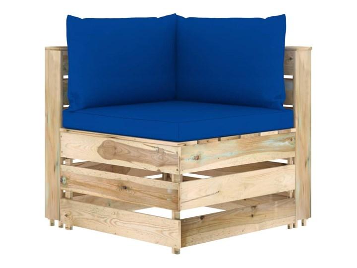 vidaXL 6-cz. zestaw wypoczynkowy do ogrodu, z poduszkami, drewniany Styl Rustykalny Zestawy wypoczynkowe Drewno Zestawy modułowe Kategoria Zestawy mebli ogrodowych