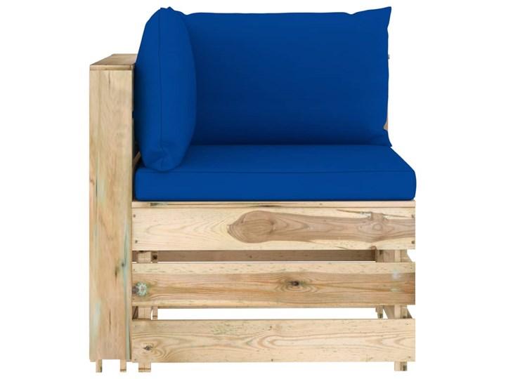vidaXL 6-cz. zestaw wypoczynkowy do ogrodu, z poduszkami, drewniany Styl Rustykalny Zestawy wypoczynkowe Zestawy modułowe Drewno Kategoria Zestawy mebli ogrodowych