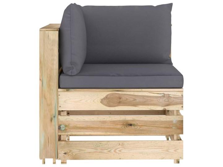 vidaXL 6-cz. zestaw wypoczynkowy do ogrodu, z poduszkami, drewniany Zestawy modułowe Drewno Zestawy wypoczynkowe Styl Rustykalny Kategoria Zestawy mebli ogrodowych