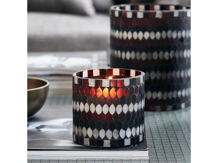 House Doctor - Świecznik na tealigh Mosa S Ceramika Metal Szkło Świeca Drewno Kategoria Świeczniki i świece