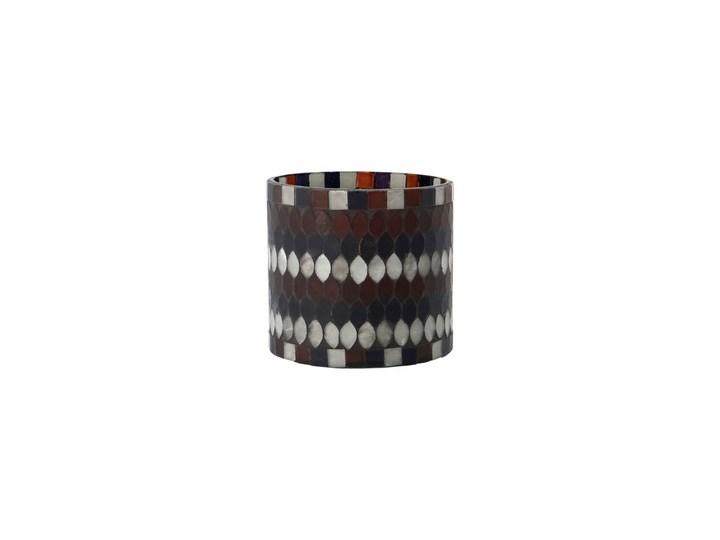 House Doctor - Świecznik na tealigh Mosa S Świeca Drewno Szkło Metal Ceramika Kategoria Świeczniki i świece