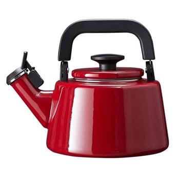 Czajnik emaliowany Forchetto Moderno Rosso 2,1l czerwony