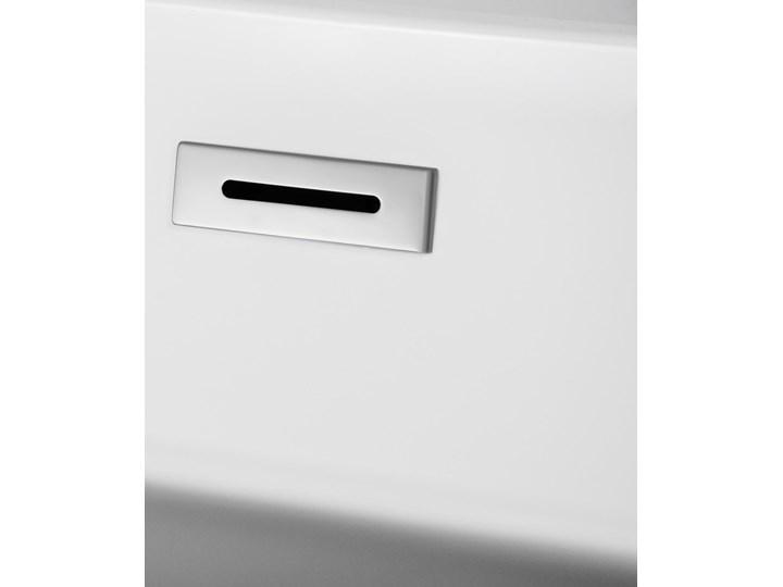 Wanna wolnostojąca Corsan E041 Olvena 160 cm z wykończeniem chrom Stal Wolnostojące Kategoria Wanny Akryl Kolor Biały