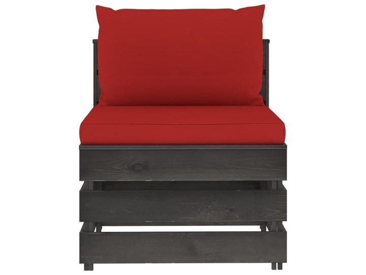 vidaXL 3-cz. zestaw wypoczynkowy do ogrodu, z poduszkami, drewniany Drewno Zestawy modułowe Zestawy wypoczynkowe Styl Rustykalny Kategoria Zestawy mebli ogrodowych