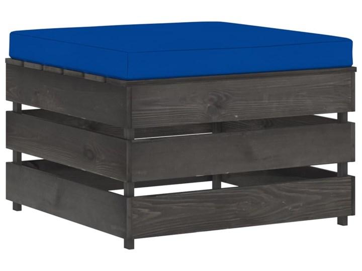 vidaXL 3-cz. zestaw wypoczynkowy do ogrodu, z poduszkami, drewniany Styl Rustykalny Drewno Zestawy modułowe Zestawy wypoczynkowe Kategoria Zestawy mebli ogrodowych