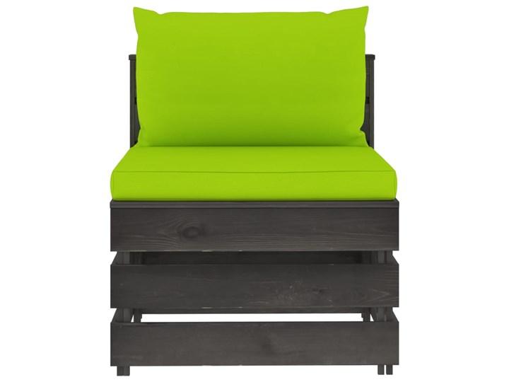 vidaXL 3-cz. zestaw wypoczynkowy do ogrodu, z poduszkami, drewniany Zestawy wypoczynkowe Drewno Styl Rustykalny Zestawy modułowe Kategoria Zestawy mebli ogrodowych