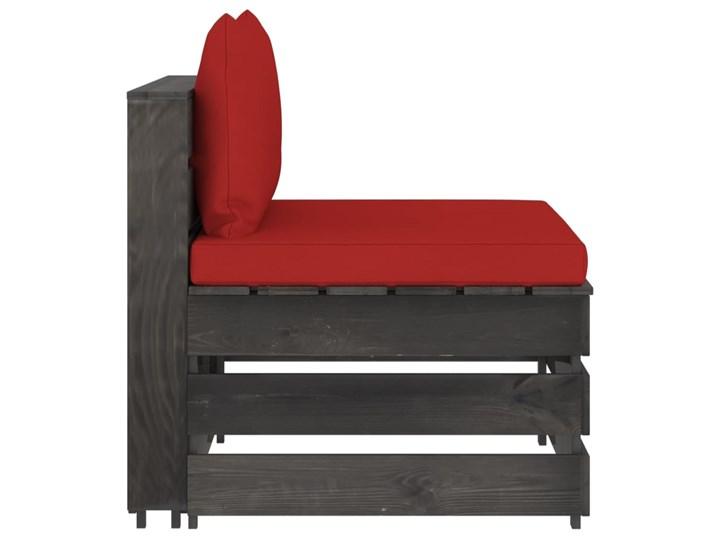 vidaXL 3-cz. zestaw wypoczynkowy do ogrodu, z poduszkami, drewniany Drewno Styl Rustykalny Zestawy wypoczynkowe Zestawy modułowe Kategoria Zestawy mebli ogrodowych