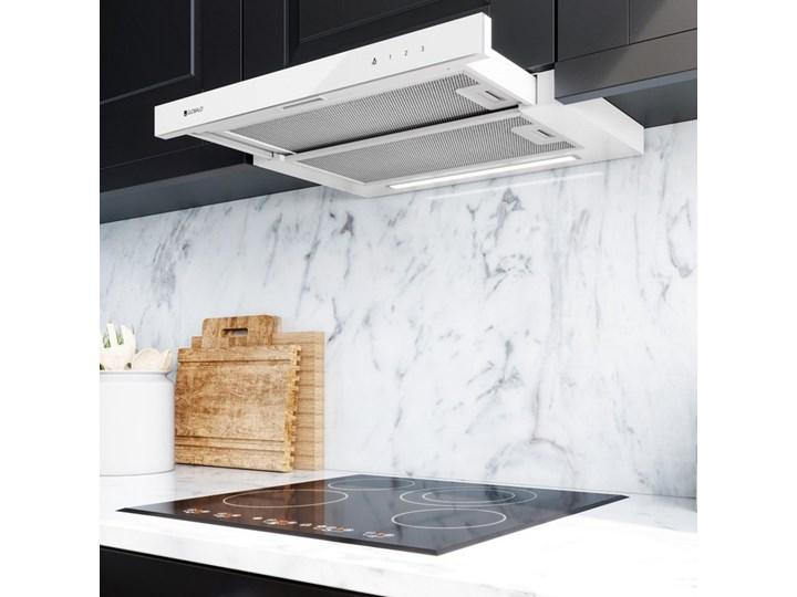 Okap kuchenny Wineter 60.2 White Okap podszafkowy Sterowanie Elektroniczne Okap do zabudowy Poziom hałasu 49 dB